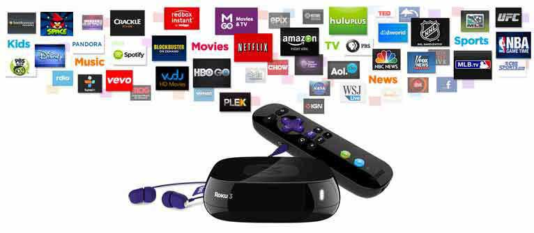 Roku 3 for effortless and instant streaming