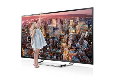 LG'S FIRST 84-INCH CLASS ULTRA HD TV - 84LM9600
