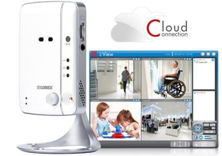 LNC104 Wireless Network Camera