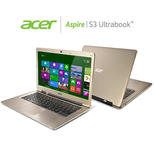 B009A8L0J8 image 1. V386755629  Acer Aspire S3 391 6676 13.3 Inch Ultrabook (Champagne) Reviews