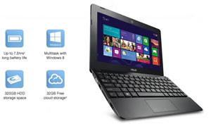ASUS 1015E Mini-Notebook