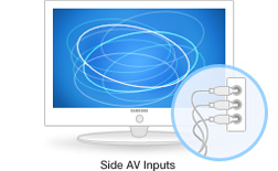 Side AV Inputs