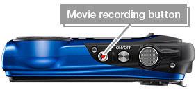 Movie recording button