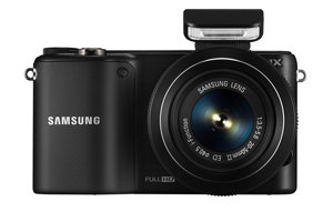 Samsung NX2000 (with bundled 20-50mm and 50-200mm lens) Product Shot