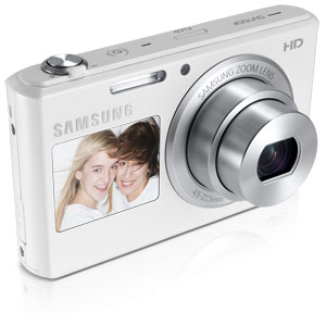 Samsung DV150F Smart Camera Dual View Product Shot