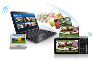 Samsung NX300 Smart Compact System Camera Product Shot