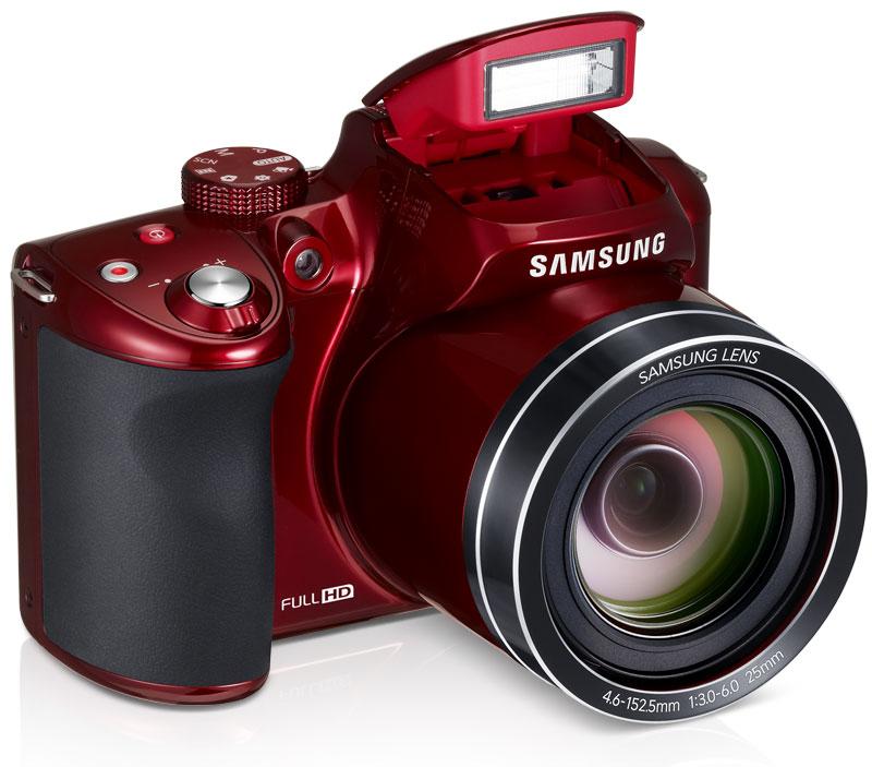 Red Samsung Digital Camera
