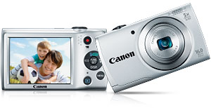 a2500 main. V376499207  Canon PowerShot SX500 IS 16.0 MP Digital Camera with 30x Wide Angle Optical Image Stabilized Zoom and 3.0 Inch LCD (Black)