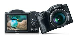 sx500is main. V390109610  Canon SX30IS 14.1MP Digital Camera with 35x Wide Angle Optical Image Stabilized Zoom and 2.7 Inch Wide LCD