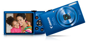 elph115is main. V376500168  Canon PowerShot SX500 IS 16.0 MP Digital Camera with 30x Wide Angle Optical Image Stabilized Zoom and 3.0 Inch LCD (Black)