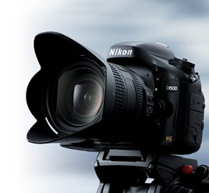 photo of the D600 HD-SLR