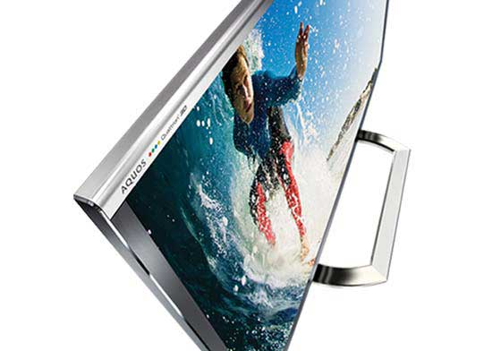 AQUOS - Stunning Picture Sized to Thrill