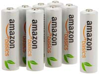 AmazonBasics Ni-MH Rechargeable Batteries 8-pack