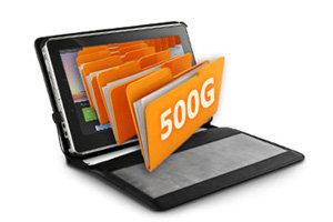 500GB Huge Storage!