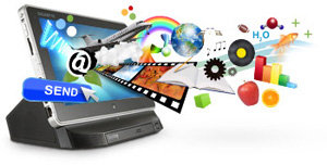 The S1082-CF1 also can be a Multimedia Center!