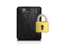 WD My Passport Essential - Security