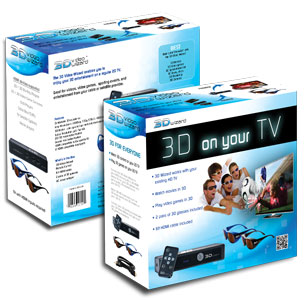 3D Video Wizard Box Configuration