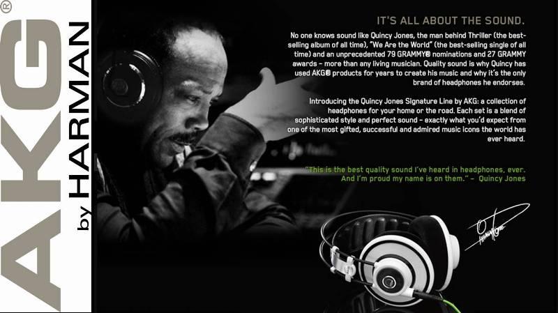 Amazon.com: AKG Q 701 Quincy Jones Signature Reference