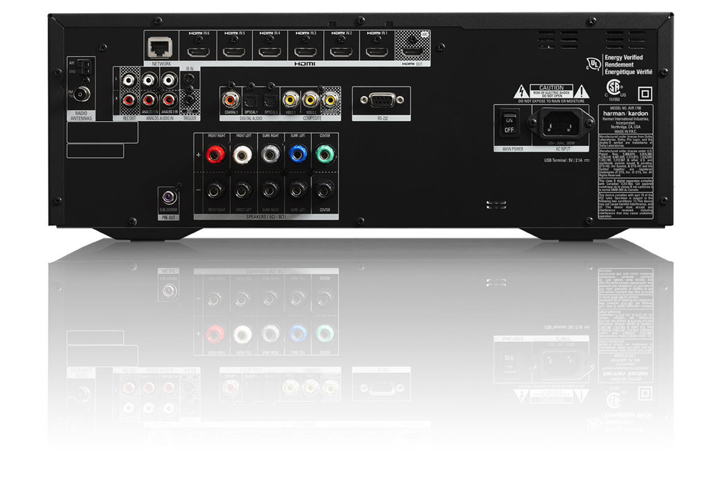 Amazon Com Harman Kardon Avr 1700 5 1 Channel Network