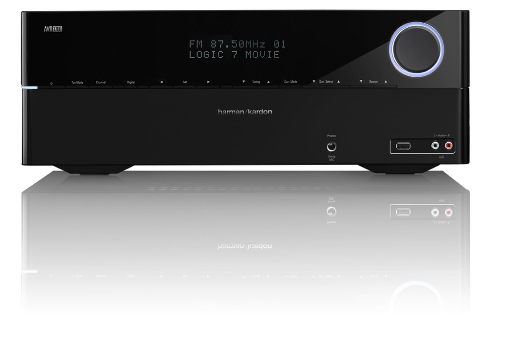 Amazon.com: Harman Kardon AVR 1700 5.1-Channel Network-Connected Audio/Video Receiver with ...