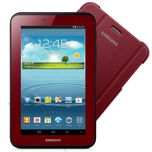 galaxy tab 2 garnet with cover
