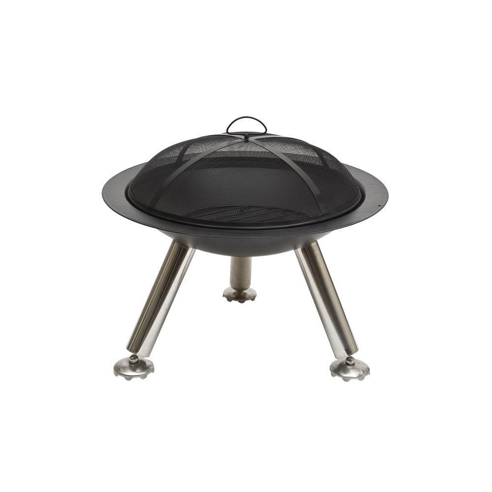 Amazon Com Cobraco Cast Iron Fire Pit Fbcisteel Patio