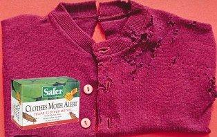 Amazon Com Safer Brand 07270 Clothes Moth Alert Trap Home Pest Control Traps Patio Lawn