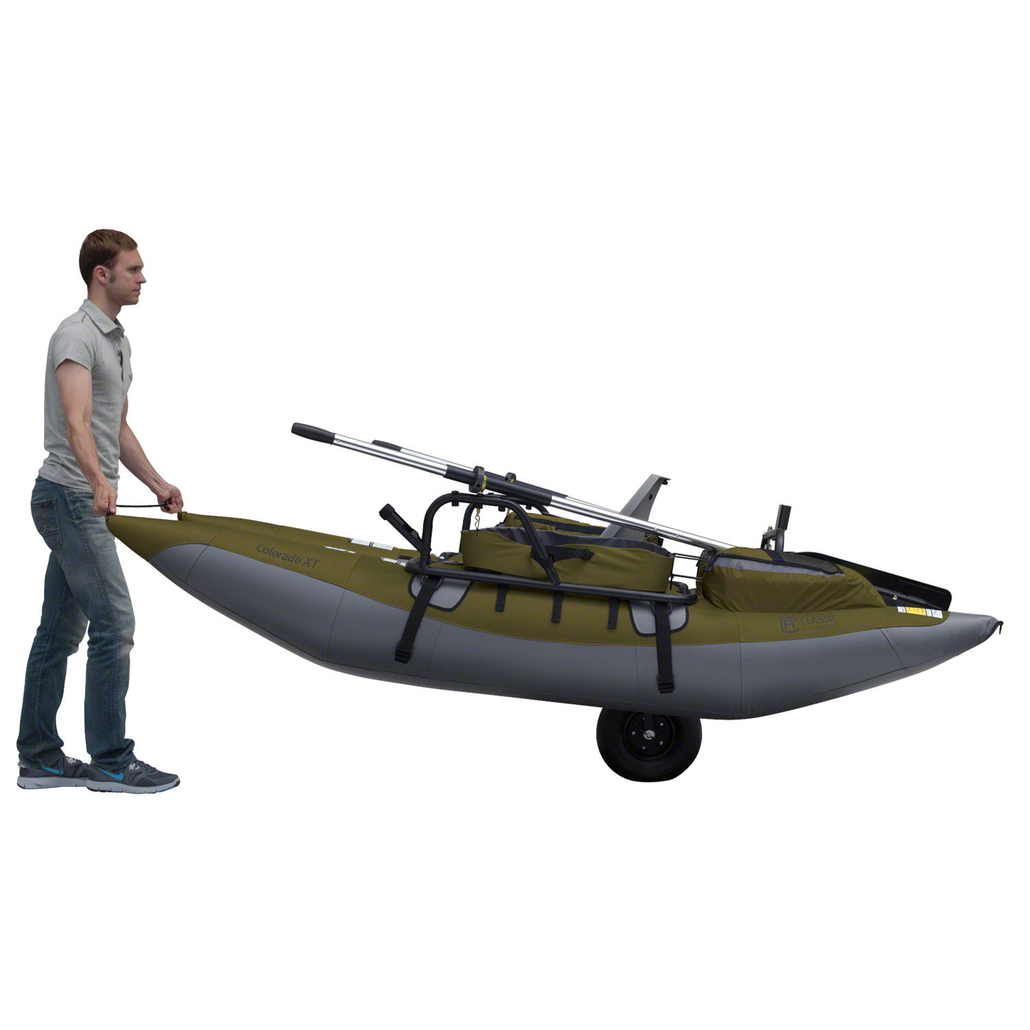 Inflatable pontoon boats and fishing float tubes - Classic Accessories Colorado Xt Pontoon Boat
