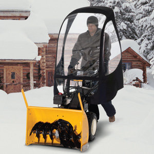 Snow Thrower Deluxe Cab