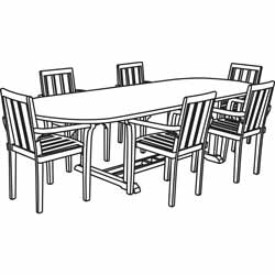 Wood Outdoor Dining Sets in addition Racetrack Table And Chairs likewise 100 High Back Windsor Armchair Windsor Chairs Etsy8 Elm 100 Yew 64b08346d91e71b6 likewise Table Setting Letia Mitchell Lifestyle Design A52b3a097ac3d32c together with Furniture West Elm 3 Drawer Mirrored Dresser. on dining table 6 chair set