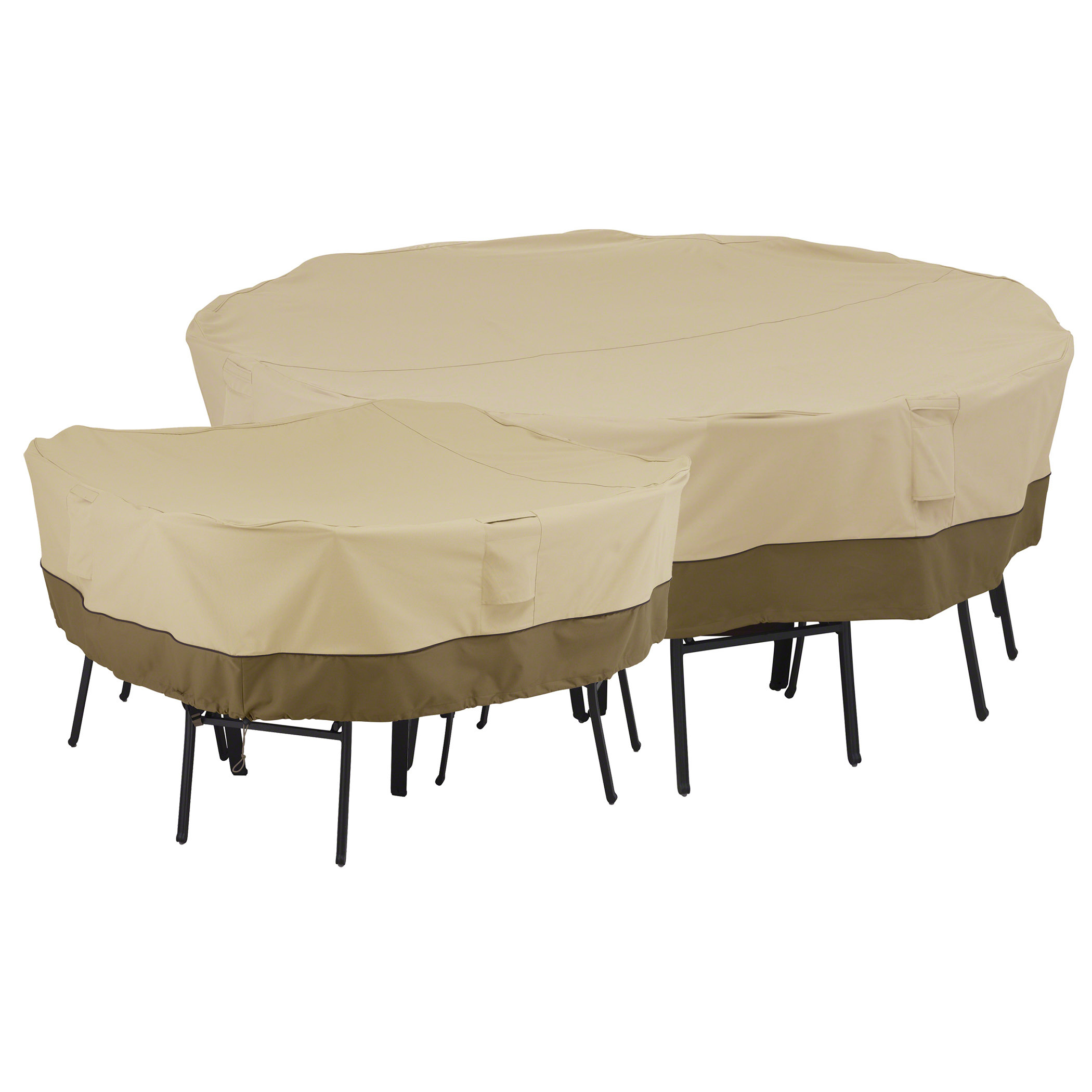 Amazoncom classic accessories 55 228 011501 00 veranda for Patio furniture covers for square tables
