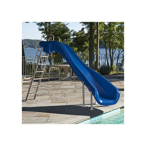 S r smith 610 209 5822 rogue2 pool slide left curve for Pool garden outlet