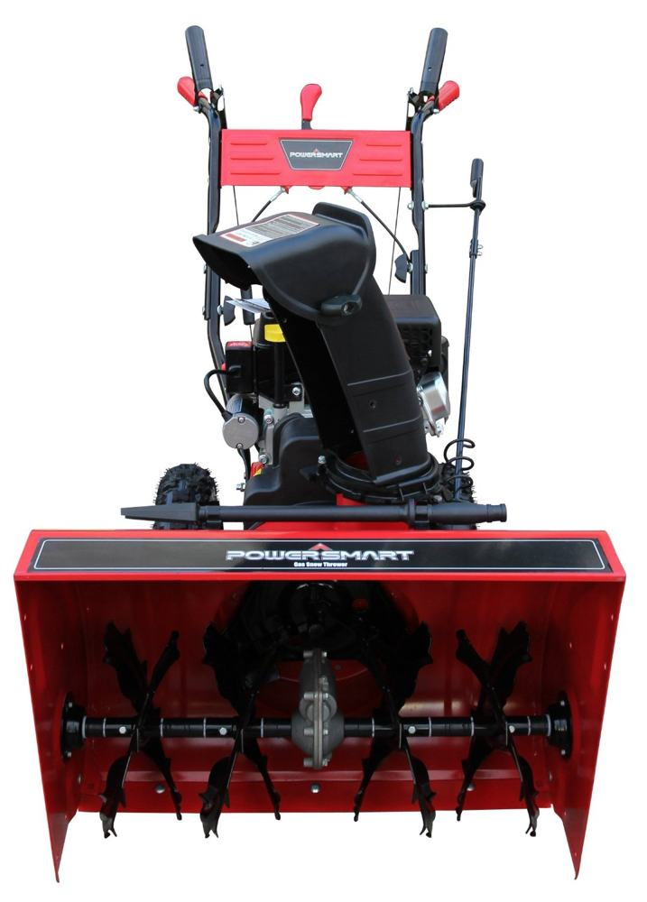 Gas Powered Snow Blowers : Gas powered stage snow blower thrower electric start