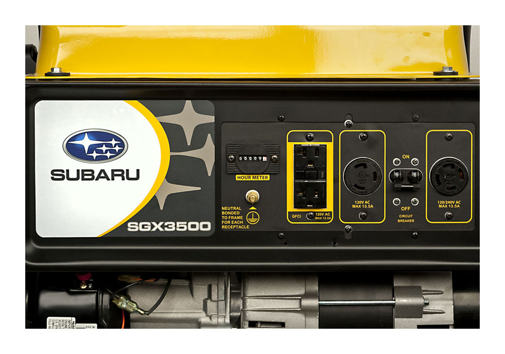 Subaru Generators - the SGX Series Portable Generators