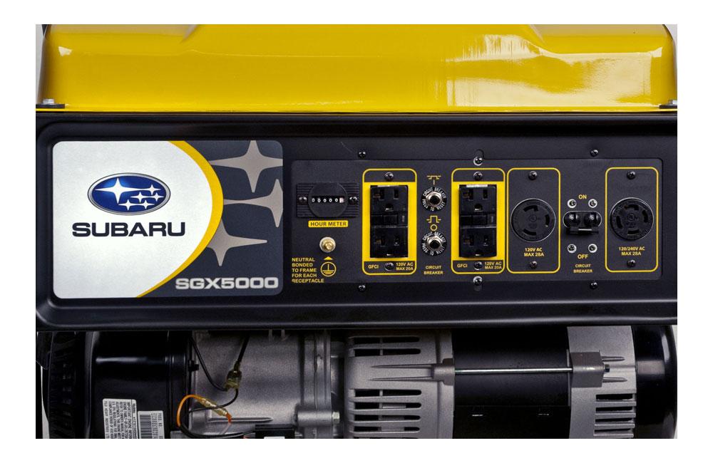 Subaru SGX5000 Control Panel