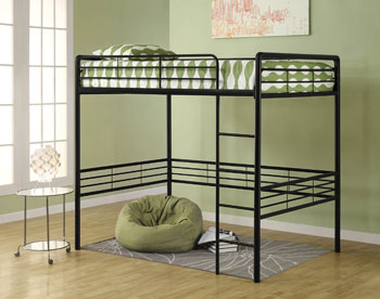 Buy Cheap Dorel Home Products Full Loft Bed Black Maryd