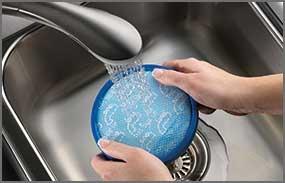 Reusable Easy Rinse Filter