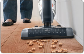 Hoover Corded Cyclonic Stick Vacuum - Wide Nozzle