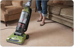 Hoover T-Series WindTunnel Rewind Plus Bagless Upright 5 Position Carpet Height Adjustment