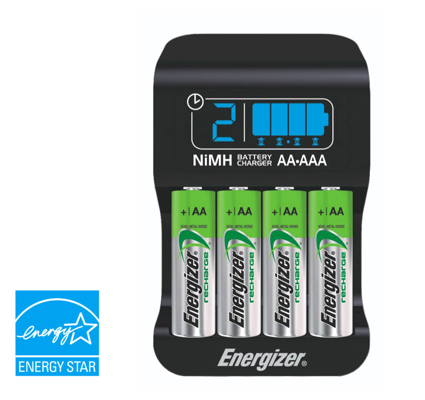 Amazon Com Energizer Smart Rechargeable Charger For Aa