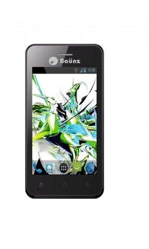 Baunz T60 Smartphone Bluetooth USB Android 4.0 Ice Cream Sandwich 4 Go Noir