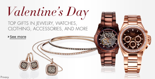 Valentine's Day - Special Gifts from Jewelry, Watches, Clothing, Shoes and More - Link Now