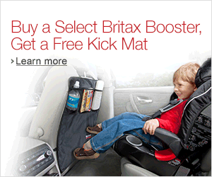Free Britax Kick Mat with Purchase - See Fashion/Baby tab for links and banners