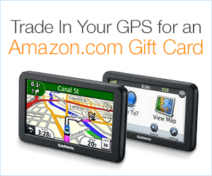 Trade In Your GPS for an Amazon.com Gift Card