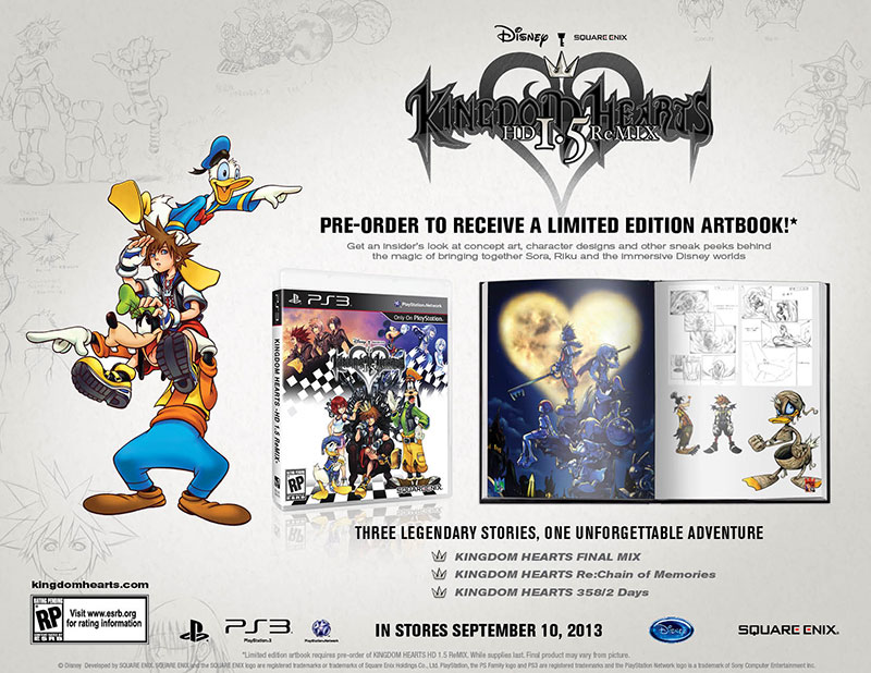 So I have Kingdom Hearts 1.5 / 2.5 HD. What Order should I ...