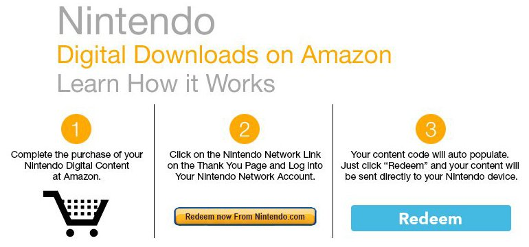 Amazon Now Selling Nintendo Digital Downloads