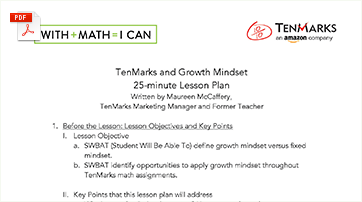 25-minute Growth Mindset Lesson Plan