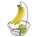 Fruit Bowl with Banana Holder