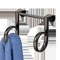 Twin Loop Towel Holder