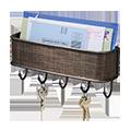 Mail & Key Rack